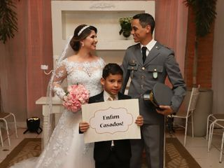 O casamento de Aline e Nilson e Almeida 2