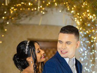 O casamento de Gislane  e Renam 2