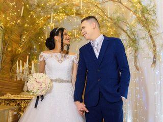 O casamento de Gislane  e Renam