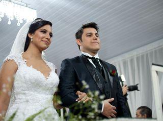 O casamento de Stéphanie e Klebson