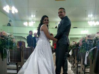 O casamento de Simone e Gerson