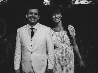 O casamento de Roberta e Fred