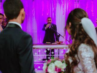O casamento de Allyne e Joab