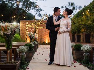 O casamento de Leila e Andrew