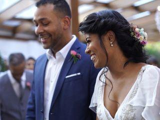 O casamento de Camila e Ewerton