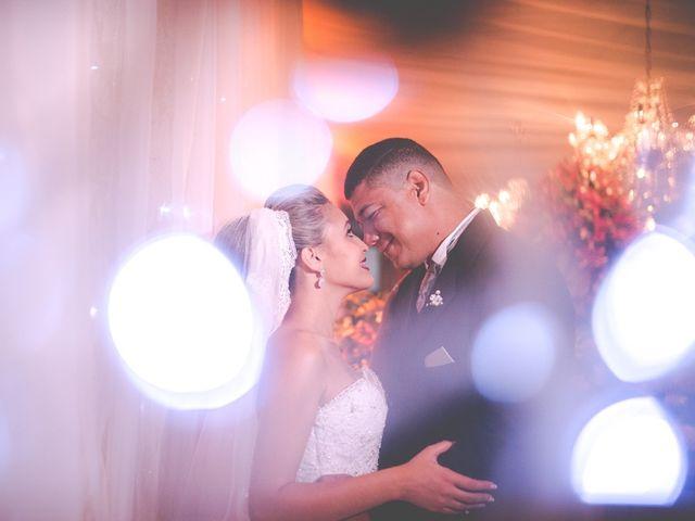 O casamento de Carine e Leandro
