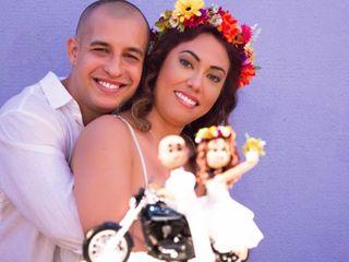 O casamento de Quivia e Hugo