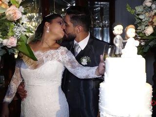 O casamento de Carolina e Cássio