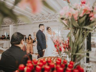 O casamento de Aline e Emerson