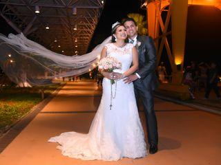 O casamento de Brenda e Fábio