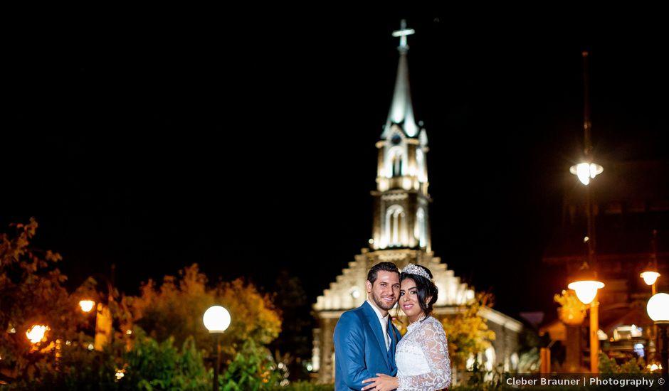 O casamento de Diego e Jodelly em Gramado, Rio Grande do Sul