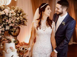 O casamento de Larissa e Marcelo