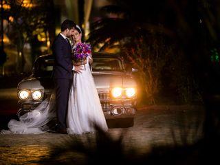 O casamento de Flavia e Everson