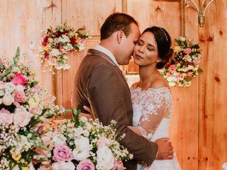 O casamento de Fernanda e Miedson