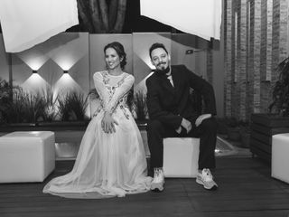 O casamento de Fernanda e Leandro