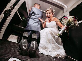O casamento de Viviane e Francis