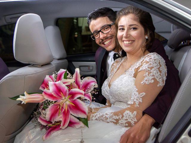 O casamento de Caroline e Rogério
