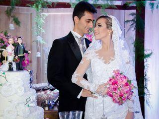 O casamento de Stephanie e Michel