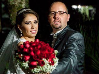 O casamento de Camila e Edgar