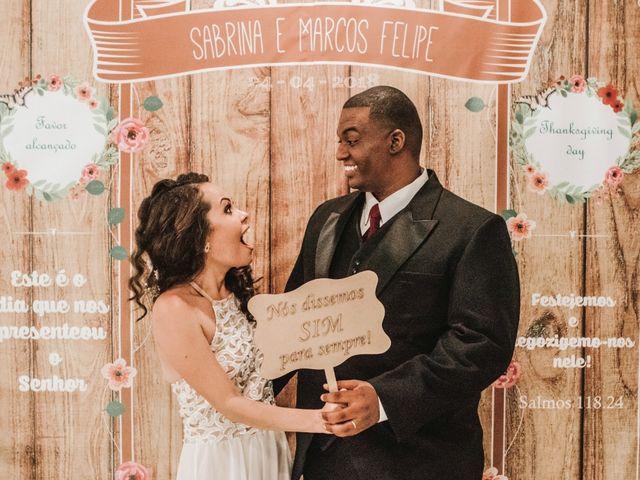 O casamento de Marcos e Sabrina em Rio de Janeiro, Rio de Janeiro 1
