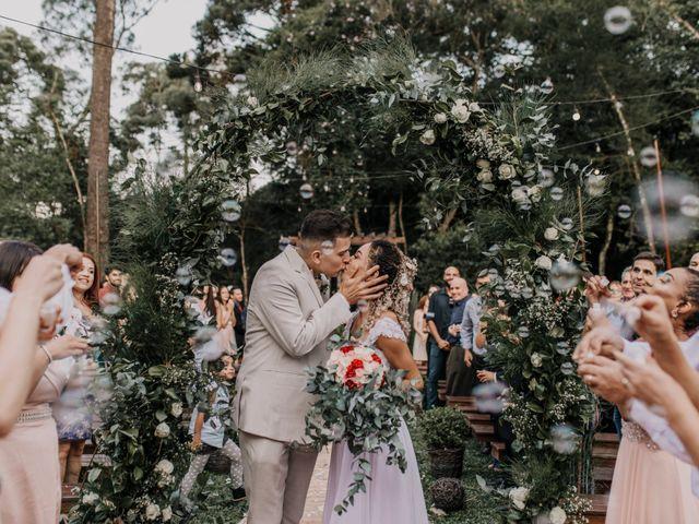 O casamento de Fabiane e Wellinton