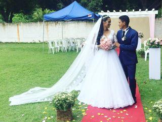 O casamento de Marcely e Adailton