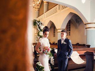 O casamento de Ariane e Kelvin