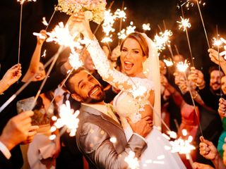 O casamento de Camila e Clovis