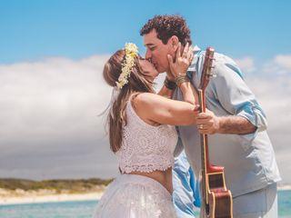 O casamento de Gladys e Daniel