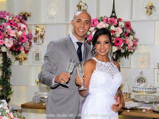 O casamento de Camila e Vinny