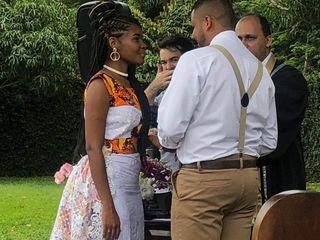 O casamento de Shalom e Larissa