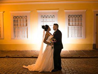 O casamento de Érica e Vinicius