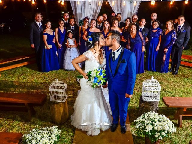O casamento de Lucas e Aline em Ribeirão Pires, São Paulo 1