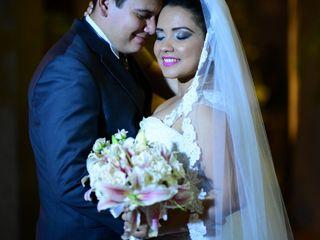 O casamento de Laryssa e Diego