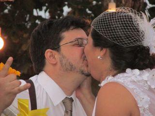 O casamento de Fabiane e Guilherme