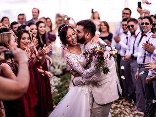O casamento de Vivian e Ramon