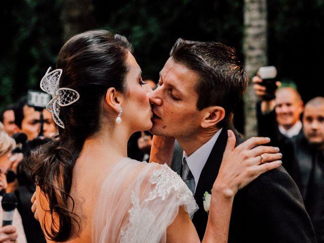 O casamento de Ornella e Claudio