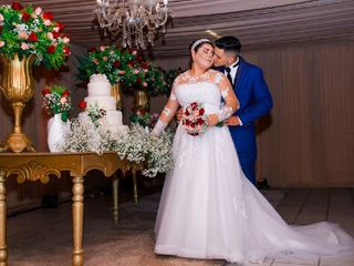 O casamento de Larissa e Rodrigo
