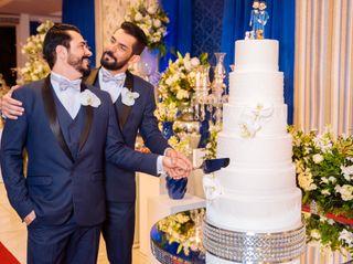 O casamento de Guilherme e Roberto