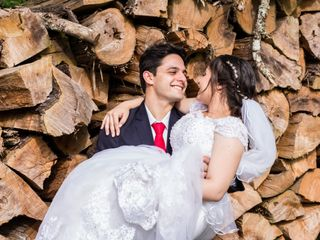 O casamento de Eduarda e João