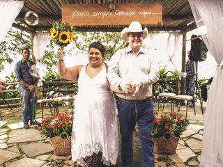 O casamento de Douglas e Aninha
