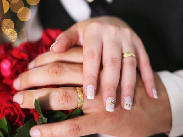 O casamento de Vivian e Alberto