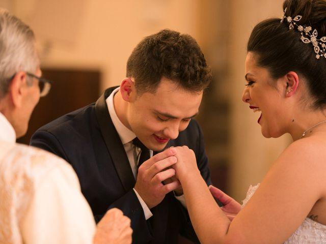 O casamento de Alaide e Gabriel