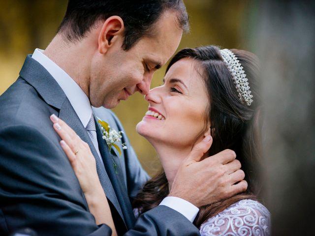 O casamento de Flavia e Michel