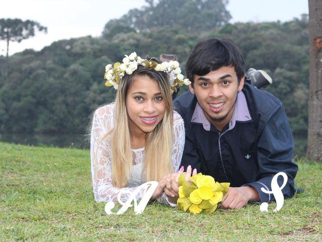 O casamento de Alessandra e Sergio