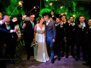 O casamento de Amanda  e Jean 1