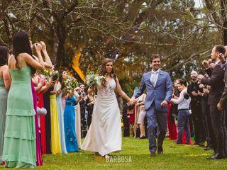 O casamento de Luciana e Cristiano