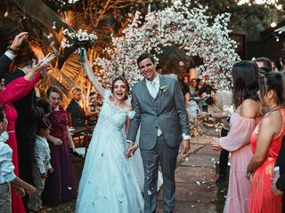 O casamento de Lara e Marcelo