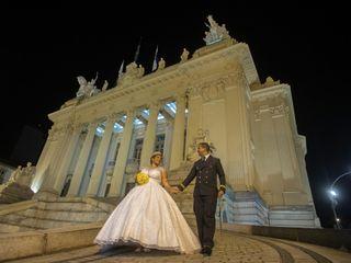 O casamento de Grazi e Jorge