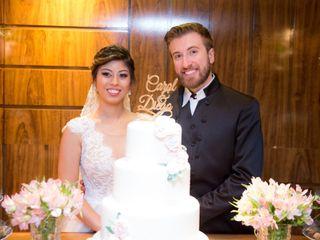 O casamento de Caroline  e Diego